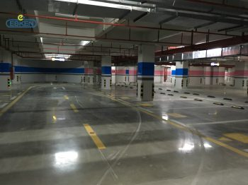 广东江门珑城半山住宅地下车库项目